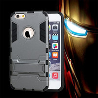 Wholesale Galaxy Ace X - Defender Iron Man Heavy Duty Rugged PC TPU Hybrid Stand Case For Samsung Galaxy J1 ACE J110 J2 J3 MOTO G G2 G3 X Style Play HTC M9 A9