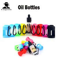 Wholesale glass bottles for liquid - 30ml E Juice Bottles With Silicon Case Compatible with 30ml Glass Bottles For Liquid Mix Colors