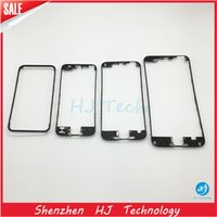 Wholesale Support Iphone 4s - High quality Front Frame Middle Bezel LCD Supporting Frame With hot glue For iPhone 4 4S 5G 5S 5C 6 4.7 plus 5.5 inch Free shipping