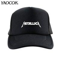 Wholesale Metallica Logos - FREE SHIPPING Wholesale FASHION Casual Hip Hop Logo Custom metallica Punk Rock Band Cool Mens Knit Hats And Snapback Caps Sport Brand Winter