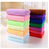 Wholesale Microfiber Cleaning Set - New hot-selling microfiber towel 30 * 60 car cleaning towel wipe towel