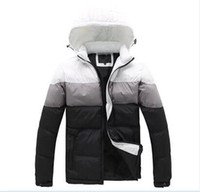 Wholesale Padded Hat - Mens Jackets men's outwear cotton blended coats even hat cotton padded jackets leisure thick coat new winter coats