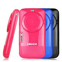 Wholesale Covers Galaxy Zoom - Wholesale-Free shipping IMUCA original brand cover case for Samsung Galaxy K ZOOM KZOOM C115 C1158 luxury tpu phone cases with film