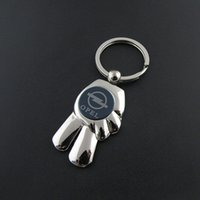 blue cube promotional - old Cube Shaped Customized Austria Souvenir Promotional Silver Rotating Metal Vienna Keychain