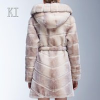 Women Others Others Wholesale-Sheeskin Top Wool Coat Female Fur Coat Real Fur Coats For Women Dress Winter Coat Women Winter Jacket Women Leather Jacket Women