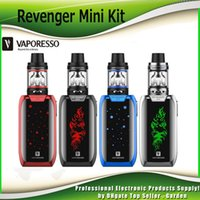 Wholesale Mini Tank Led Light - Original Vaporesso Revenger Mini 85W Starter Kits 2ml 3.5ml NRG SE Mini Tank with LED Light 2500mah Battery Ecig Vape Kit 100% Authentic