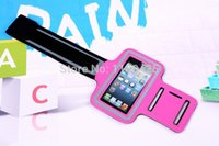 Wholesale Optimus G Cover - Wholesale-Sweat-proof Mesh Running Sport Armband case Cover Holder for LG Nexus 5 G2 D802 G3 D855 Optimus G Pro G Flex D958