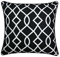 Wholesale Green Black Throw Cushions - new 2014 Geometric cushion cover black and white pillow cover blue abstract cushions home decorative green throw pillows 45