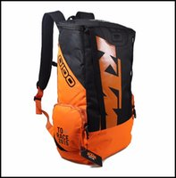 Wholesale Ktm Accessories - New KTM Motorcycle Bag Racing Backpack Waterproof Motorbike Oil Fuel Tank Bag Saddle Bag Fashion Motorcycle Accessories