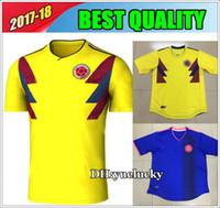 Soccer Men Short Colombia Soccer Jerseys 2018 World Cup Home Away Shirt 10  JAMES 9 FALCAO 0f6d5a8d9