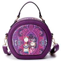 Wholesale Forest Leopard - new Forest Circular Bags Crossbody Bags For Women Bag Sac A Main Femme 2018 Designer Handbag Lady Hand Bag Fashion Bolsas