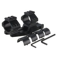 Wholesale Excellent quality mm mm Dual Ring Cantilever Heavy Duty Scope Mount quick release Fit mm Picatinny Weaver Rail