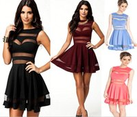 Wholesale Slinky Black Sexy Dress - 2015 New Arrival Sexy Elegant A Line Women Girls Spring Summer Slinky Bodycon Dress Maxi Dresses Sheer Party Club Dress Casual Dresses