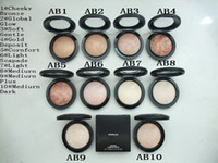 Wholesale skinfinish natural - Mineralize Skinfinish Powder Foundation 10g All English Name Have 10 Different Colors