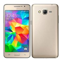 4.4 handys großhandel-Quad-Core 4G Netzwerk 1G 8G Rom 8MP Bar entsperrt Telefon Kamera Android 4.4 G530 von 5 Zoll Handy Smartphone