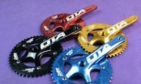 Wholesale Bike Crank Crankset - Wholesale-OTA AL7075 48T single speed fixed gear fixie bike crankset cycling Road track bicycle crank set chain wheel