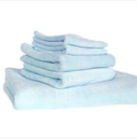 Wholesale Microfibre Bath Sheet - 5 PCS towels set 1 bath 2hand 2wash towel Microfiber Bath Sheet Beach Towel Microfibre Towels Yoga Bath Absorbent