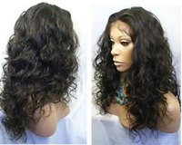 Wholesale Wigs For Women Malaysia - Full Lace Wigs and Front Lace Wig 100% Virgin remy Malaysia Unprocessed Hair long length for women Stocks