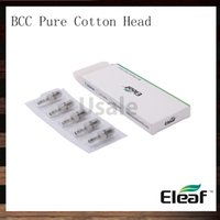 Wholesale Coil Head Bcc - iSmoka Eleaf BCC Pure Cotton Head Replacement Coil Head For GS16 iJust Atomizer BCC- GT Atomizer ICE-BDC Clearomizer 100% Original