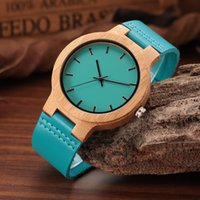 Wholesale Japanese Watches For Men - Leather Strap Wooden Watches for Men and Women Japanese miytor 2035 Quartz Watch Male Relogio C-C28 DROP SHIPING