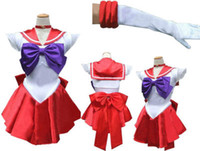 Fress Versand Japan Anime sexy Cosplay Kleid mit Bowknot Sexy Sailor Mond Kostüm Revers Kragen Hot Girl Cosplay Kleid gefalteten Rock