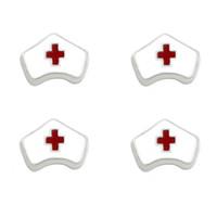 """Wholesale Wholesale Nursing Caps - 10pcs lot """"Nurse cap"""" floating charms DIY charms for necklace & bracelets fashion charms accessories glass Locket charms LSFC346*10"""