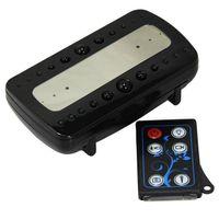 ingrosso orologi di telecomando-Telecamera Black Pearl RF Night Vision Alarm Clock con Motion Detection Telecomando Orologio Mini DVR Full HD fotocamera V26 in scatola