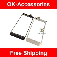 Wholesale Digitizer Flying - 1PC  Lot 100% High Quality For Fly IQ4512 IQ 4512 Touch Screen Digitizer Free Shipping