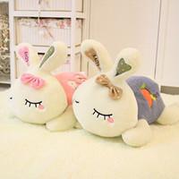 Wholesale Plush For Sale - Hot Sale Plush Toys Love Rabbit valentine Gifts Lie prone on the rabbit For Stuffed Animals Three Size 30CM 40CM 55CM 5PCS LOT K295