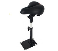 Wholesale Electric Cushion - 8 inch sports electric scooter seat Chair cushion can be folded for special shock saddle scooter seat