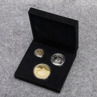 Wholesale Harry Potter Box Set - 3pcs set Harry Potter Coins The Sorcerer's Stone Gringotts Bank Two-Sided Collection Wizarding Coin Galleons Replica