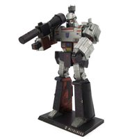 Wholesale Megatron Toy - Megatron 3D Metal Puzzle Model Colorful Assembly Earth Model Kits Laser Cut Toy Jigsaw Artwork DIY Building Block Gift for Adults