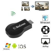 Wholesale Cast Dongle - 1080P Mirror Screen Cast WiFi Display Receiver AV TV Dongle Miracast Airplay For Andriod iOS Cell Phone HDTV IPush