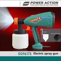 Wholesale High quality W air brush electric spray paint gun SG S ml V DIY furniture with a funnel plus two nozzles