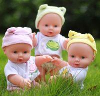 vraies poupées reborn achat en gros de-Nouveau Design Reborn Baby Poupées Real Doll Boneca Reborn Realista Poupées De Mode Pour Princesse Enfants Cadeau D'anniversaire