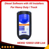 Wholesale Diagnostic Code Nexiq - 2016 New arrival nexiq truck diagnostic tool nexiq 125032 usb link with high quality NEXIQ A+ Quality DHL free shipping