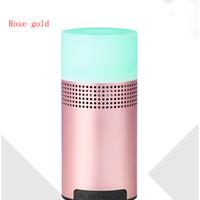 nuevos altavoces pequeños al por mayor-NUEVO altavoz inalámbrico Bluetooth Reproductor de música 7 lámpara de color altavoz bluetooth tarjeta LED al aire libre pequeño altavoz de luz nocturna DHL libre