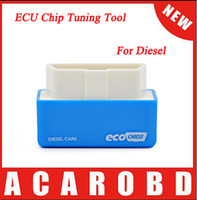 Wholesale Fuel Economy Chip - Plug and Drive EcoOBD2 Economy Chip Tuning Box for Diesel Cars Lower Fuel and Lower Emission With Free Shipping