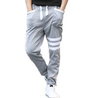 Wholesale Cheap Mens Harem Pants - Wholesale-New Men Sport Pants Outdoor Training Tracksuit Bottoms Cheap Male Clothing Harem Hip Hop Trousers Men Sweatpants Mens Joggers