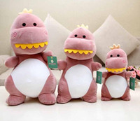 Super soft Dinosaur Plush toys Lovely boy Cartone animato dinosauro Baby doll Bambola di pezza Un regalo di compleanno