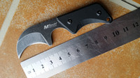 Wholesale Microtech Sheath - New U.S MTech Mini Pal neck knife mini knife Fixed blade knife hunting survival knife KNIVES with sheath karambit knives microtech knives