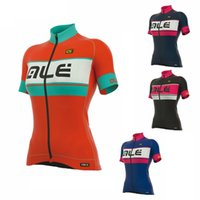 Wholesale Women S Clothing Models - 2017 Summer female models breathable mountain bike cycling jersey Tour de France classic bicycle clothing short sleeve shirts H3001