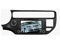 Wholesale Mp4 16gb Camera - 2017 new android 4.4.4 16GB flash quad core Car DVD player for KIA RIO 2015 2016 car gps BLUETOOTH WIFI 3G reverse camera free map