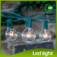 Superior Patio Clear Globe String Lights 25 Ft Clear Globe G40 String Lights Set  25pcs G40 Bulbs Included Patio Lights U0026 Patio String Light Bulbs