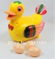 Wholesale Lay Egg - Free Shipping Amusing Duck Music Toys Can Lay Eggs And Sing While Running ,Play Things For Kids Etc