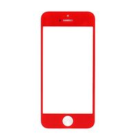 Wholesale Colorful Iphone Replacement Screens - Superb quality Colorful Front Outer Touch Screen Glass Lens Replacement for iPhone 5 5S 5C Free Shipping via DHL