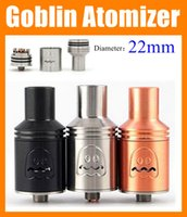 Replaceable black kennedy - Goblin Atomizer rda Rebuildable Atomizer Thread mm E Cigarette Tank Goblin RbA Black Vaporizer Vs Kennedy addy atty rda ATB156