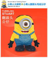 Wholesale Despicable Beans - God steal dads Despicable me Small yellow people Somersault, Series of plush products The rose up and jumping beans doll