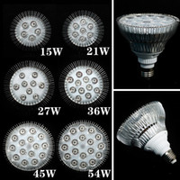 Wholesale 1X Full Spectrum LED Grow Lights W W W W W E27 LED Grow Lamp PAR Bulb For Flower Plant Hydroponics System Grow Box Spotlight