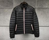 ingrosso migliori cappotti di marca di marca-New Brand anorak uomo primavera autunno giacca da uomo sottile giacca Inverno Best Quality Warm Man Piumino e parka giacca a vento M115